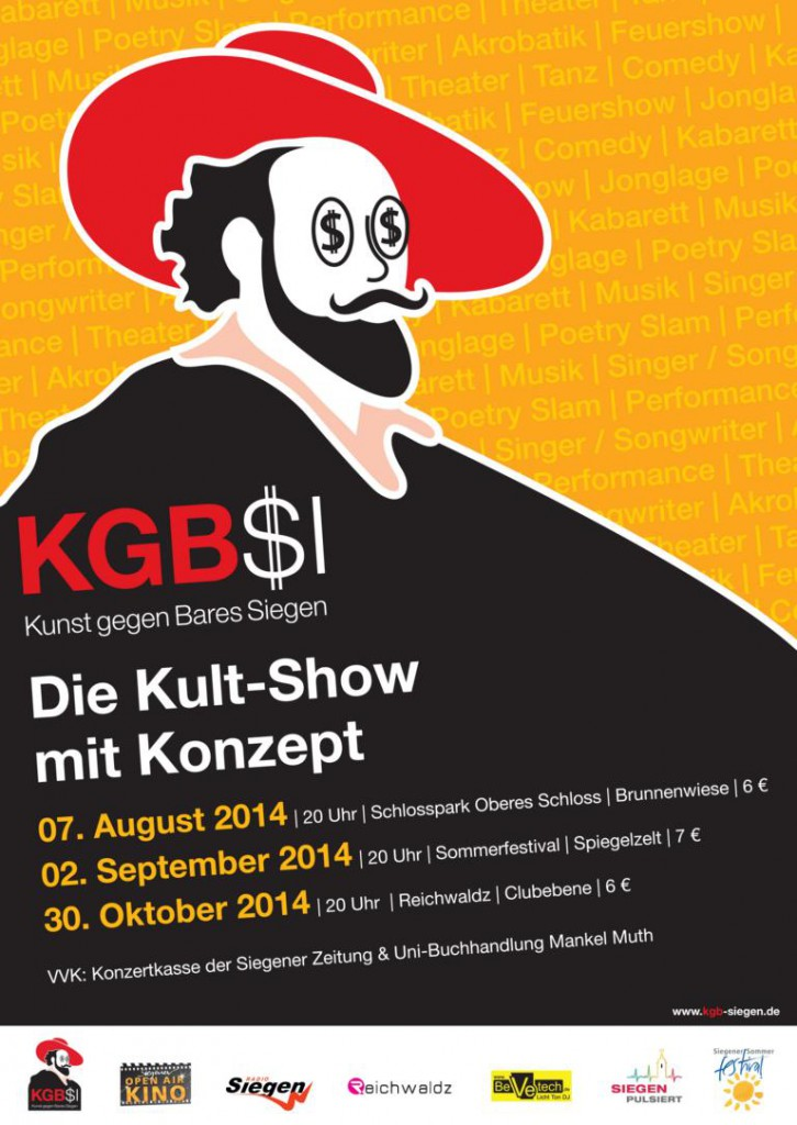 KGB Plakat A1 groß