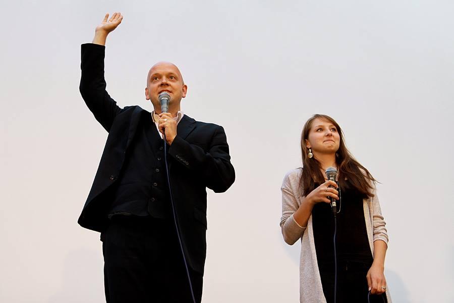 Gerd Buurmann und Kim Miriam Judt